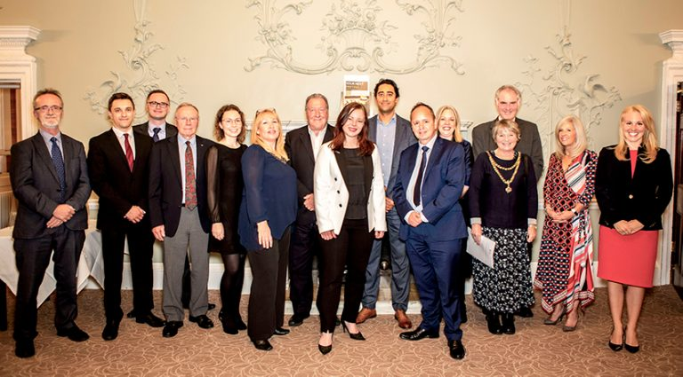 Local dignitaries including the Mayor and Mayoress of Colchester joined almost a hundred representatives of the local business community at Wivenhoe House, Colchester this week to celebrate enterprise in the town at Colchester Business Enterprise Agency's (Colbea) 2019 AGP.