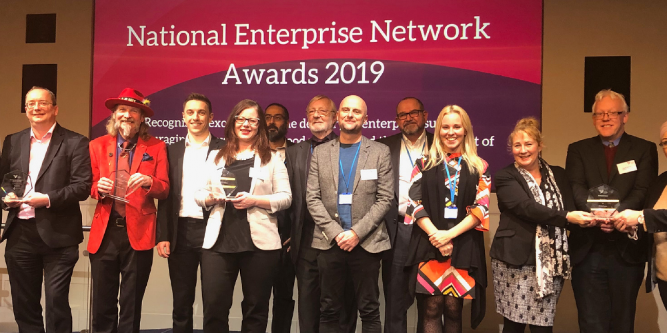 All of our 2019 NEN Award Winners and Highly Commended organisations