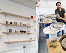 Pottery studio opens at North East Business and Innovation Centre